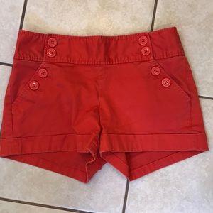Banana Republic Martin Fit Sz 4 Orange Shorts
